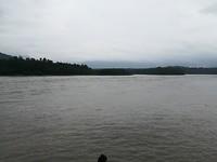 Uitzicht bij een budha beeld