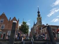 Stadhuis van Veere waar we 25 jaar geleden zijn getrouwd!