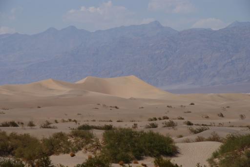 Duinen in Death Valley