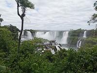 Uitzicht op de Garganta del Diabolo vanuit Brazilië (2)
