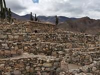 Historisch dorp in Tilcara uit het late Inca tijdperk