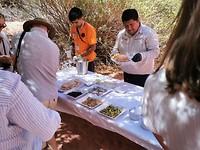 Lunch in Talampaya canyon