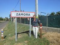 Zamora na 800km a pied!