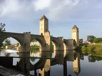 Brug over de Lot in Cahors