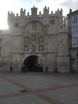 Puerta de Santa Maria in Burgos