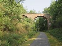 Langs de spoorlijn Üttfeld - Pronsfeld.