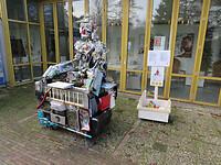 Kunst in het Rensenpark Emmen.