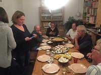 Eten met de buren