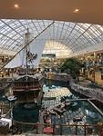 Het piratenschip in de Mall,  Edmonton