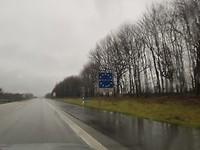 Denemarken border