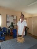 Mariska haar verjaardag in de kliniek