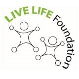 Het logo van de LIVE LIFE Foundation