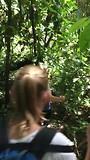 jungle trekking, lopen door de jungle