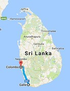 galle - colombo