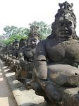 south gate van Angkor Thom. Siem Reap