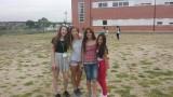 Met een paar vriendinnen van Macarena ( waar ik logeer lotte haha )