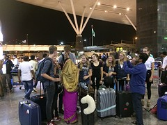 ontvangst vliegveld
