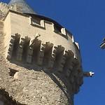 Mooie toren in dorpje op weg naar Nissan-lez-Ensérune.