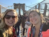 selfie brooklynn bridge