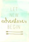 Let new adventures begin.....
