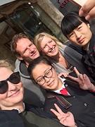 Last selfie hotel staff