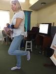 Ingrid in actie