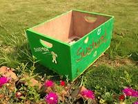 Een van de kistjes gemaakt door de kinderen die meedoen aan de advanced course!