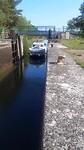 Sluis 15 in Canal de Sarre