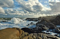 Cabo de Polonia aan de Atlantische Oceaan
