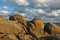 Ruige kust in Uruguay