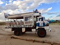 Transport naar Cabo Polonia