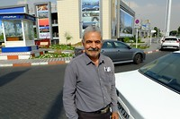 Mohamed die me gratis rondreed in Teheran :)