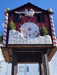 Reloj de cuco navideño