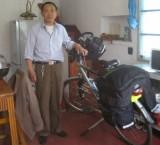 Pensionbaas heeft goed op mijn fiets gepast