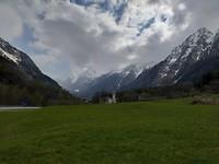 Richting Zwitserland  betrekt de lucht