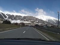 De vlakke weg naar St. MORITZ