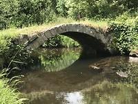 Oude Romeinse brug in Ferreira
