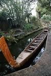 een Kano van de Maori
