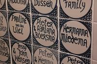 Enkele namen van de eerste emigranten in Foxton, Boersma