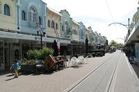 Regent street in Chrischurch
