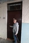 Onze kamer met originele celdeur