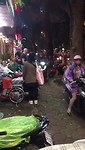Spitsuur in Hanoi