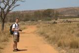 Mark met zebra's