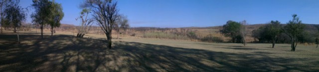 Panorama bij Kololo