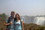 Wij bij de watervallen