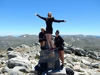 Hoogste puntje van de berg
