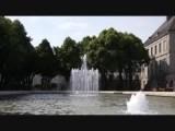 Fontein in de Botanische tuin van Limoges