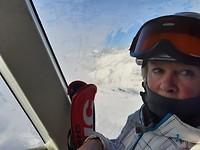 10 Gondel naar hoogste punt in Breuil Cervinia