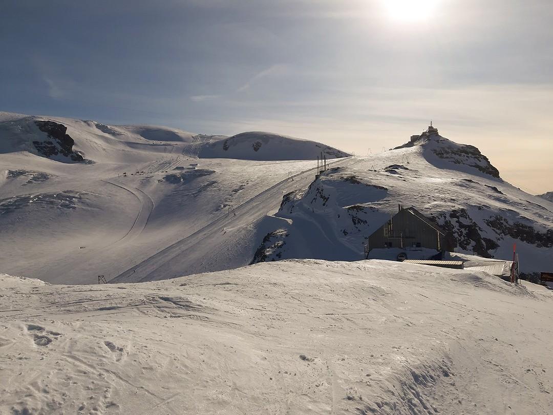 18 Plateau Rosa op 3485 meter