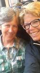 Met Nan in trein vanaf Groningen naar station Winsum
